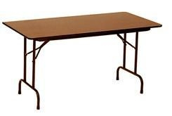 China 48 x 24, 5/8 Thick Melamine Folding Table - Other Sizes Available on sale