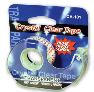 China CRYSTAL CLEAR TAPE CA-101 IN DISPENSER on sale