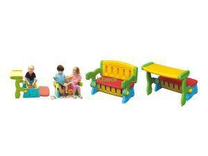 China Most Popular Wooden Childrens Kindergarten Kids Plastic Table And Chair Set For Nursery Furniture on sale