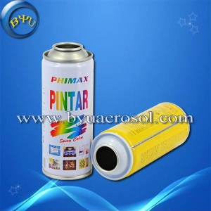 China Empty Aerosol Spray Paint Tin Cans on sale