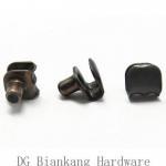 10mm Shoe Accessories Metal Shoe Laces Hook