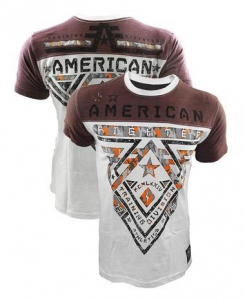 China Mens Shirts American Fighter Crossroads Camo FB Shirt on sale
