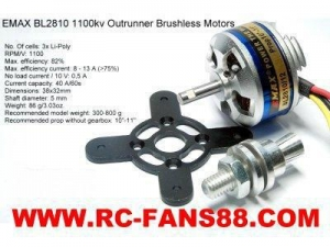 China Brushless Motor For Cars BL2810 on sale