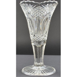 China Vintage Clear Crystal Vase wholesale
