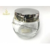 China Glass Cosmetic Jars with Lids for sale