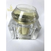 China Empty Glass Cosmetic Jars for sale