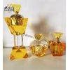 China Amber Crystal Incense Burner Set for sale