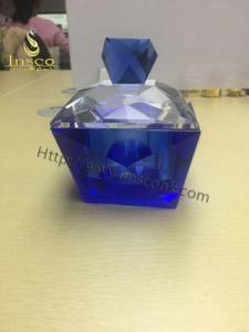 China Blue Crystal Incense Burner Set on sale