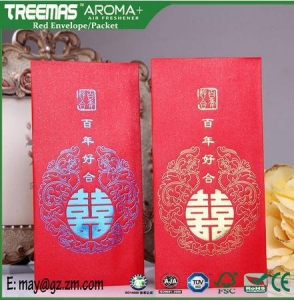 China Red Packet Hot Stamping Elegant Design Luxurious Spot UV Coating on sale