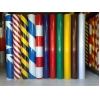 China Reflective Sheeting Double color strip reflective film for sale