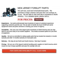 New Jersey New Jersey Forklift Parts