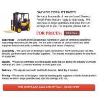 China Forklift Parts For Sale Daewoo Forklift Part on sale