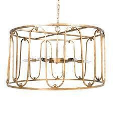 China Lighting Antique Gold Chandelier on sale