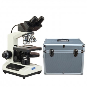 China OMAX 40X-2500X Built-in 3.0MP Digital Camera Phase Microscope + PLAN Turret Phase Disk + Hard Case on sale