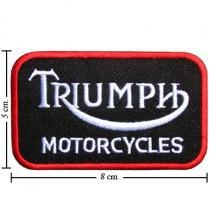 China Automobile Triumph Motorcycle Style-3 Embroidered Sew On Patch on sale