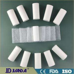 China White Open Woven Wow Absorbent Surgical Gauze Bandage Roll on sale