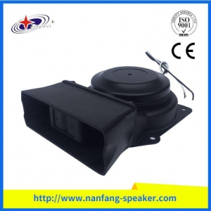China Mortocycle Horn New Professional 100W Black Portable Mini Speaker on sale