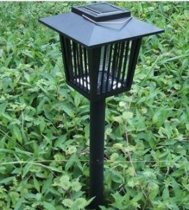 China Solar Lights Outdoor Solar Mosquito Killer Lamp on sale