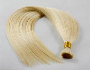 China Virgin Russian Hair Cuticle Human Hair Bulk Wholesale supplier