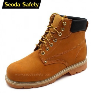 China Goodyear welted safety shoes SF-709 on sale