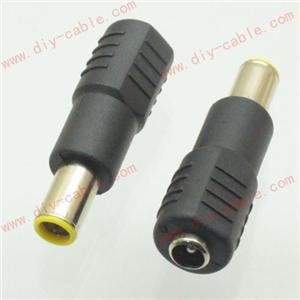 China 3pcs DC Power 4.8x1.7mm Male Plug to 5.5x2.1mm Female Jack Adapter Connector on sale