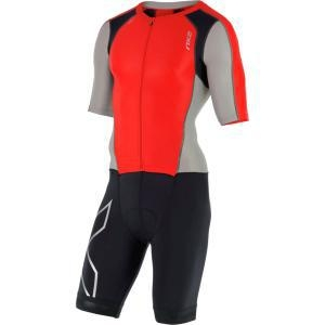 China 2XU Compression Full Zip Sleeved Tri Suit Men's on sale