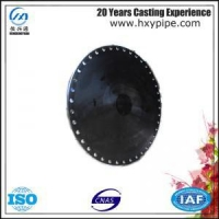 China Ductile Iron Blank Flanges Water Supply Project Use on sale