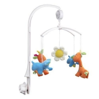 VicTsing Baby Crib Mobile Bed Bell Holder Arm Bracket + Wind-up/Auto Music Box-Without Toys