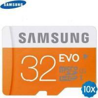 Cell Phones 10 x SAMSUNG 32GB EVO Class 10 Micro SDHC Memory Card