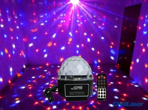 China Cheap LED lighting Disco Crystal Ball small projector for home party with Remote control on sale