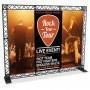 China 9ft Origami Truss Concert Festival and Stage Banner Stand - Backwall (Graphic Package) on sale