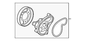 China Water Pump Assembly on sale