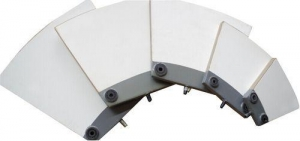 China Al2o3 Ceramic Scraper Filter Plate on sale