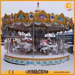 China Top selling used helicopter carousel for sale inflatable christmas carousel made in China on sale