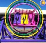 Fun amusement park ride 3D human gyroscope ride for hot Sale