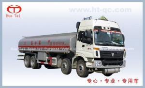 China Chemical liquid tank truck Auman heavy chemical tanker truck on sale