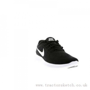 China New - Black White Anthracite Nike Free Rn Womens Shoes - VP90713 on sale