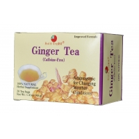 Natural Medicinal Herb Teas(1) Ginger Tea