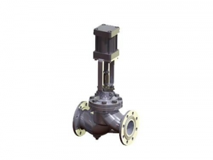 China GB flange straight double-acting pneumatic shut-off valve on sale