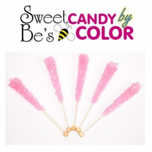 China Rock Candy Pink Rock Candy - 10 Sticks on sale
