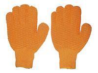 China K6294 PVC dotted string knit gloves on sale