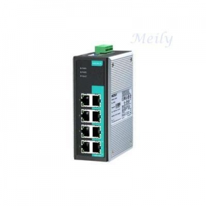 China Moxa 8G-port unmanaged Ethernet switch EDS-G308-2SFP on sale