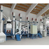China 38T complete set rice milling equipment on sale