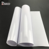 China PVC Clear Film Flex Backlit Banner Material vinyl Sticker Printing Media Fabric for sale