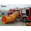 China PVC coated tarpaulin waterproof fabric for airpipe for sale