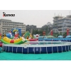China waterproof insulated tarpaulin tarps for swimming pool liner for sale