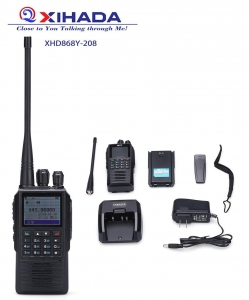 China Mobile Radio Dual Band XHD868Y-208 Hot Digital 16/256 Channels VOX TOT Walkie Talkie on sale