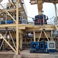 China nonmetal stone crusher plant for gem mining on sale