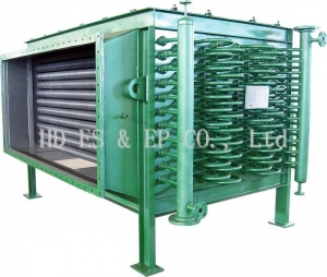 China Water Pre Heater Radial heat pipe WPH on sale