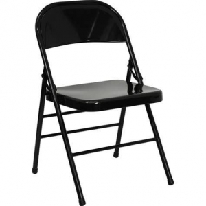 China black metal folding chairs walmart on sale